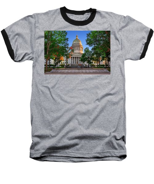 Wv Capitol As Dusk Baseball T-Shirt