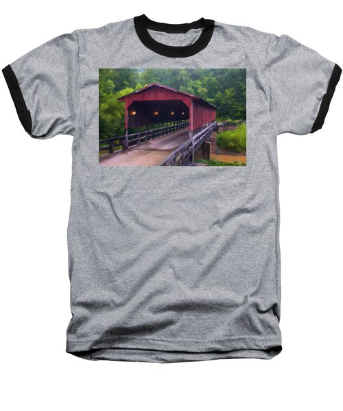 Wv Covered Bridge Baseball T-Shirt