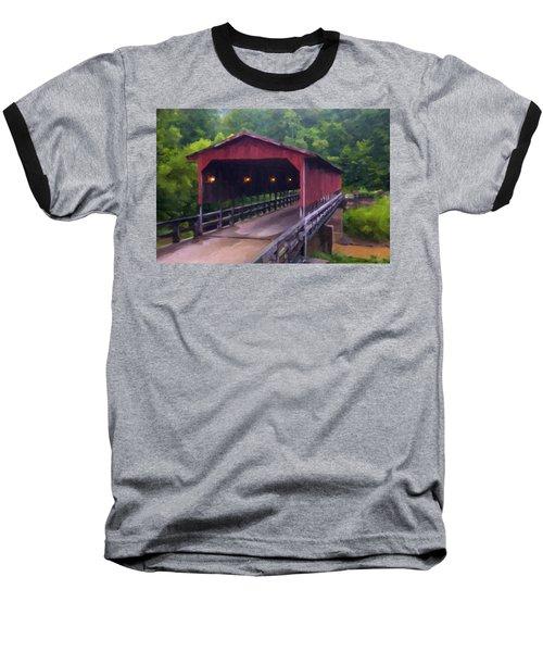 Wv Covered Bridge Baseball T-Shirt