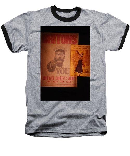 Ww1 Recruitment Posters Baseball T-Shirt
