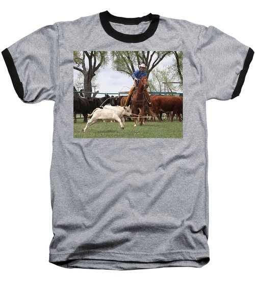 Wyoming Branding Baseball T-Shirt