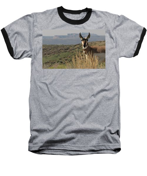 Wyoming Pronghorn Baseball T-Shirt