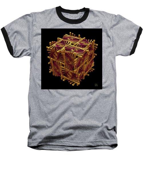Baseball T-Shirt featuring the digital art Xd Box by Manny Lorenzo