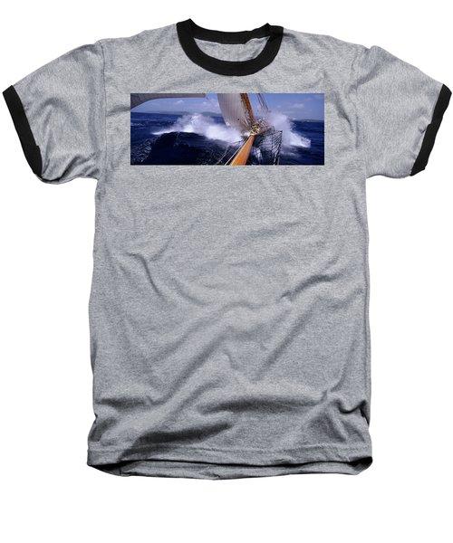 Yacht Race, Caribbean Baseball T-Shirt