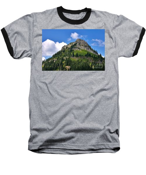 Baseball T-Shirt featuring the photograph Yakima Peak by Sean Griffin