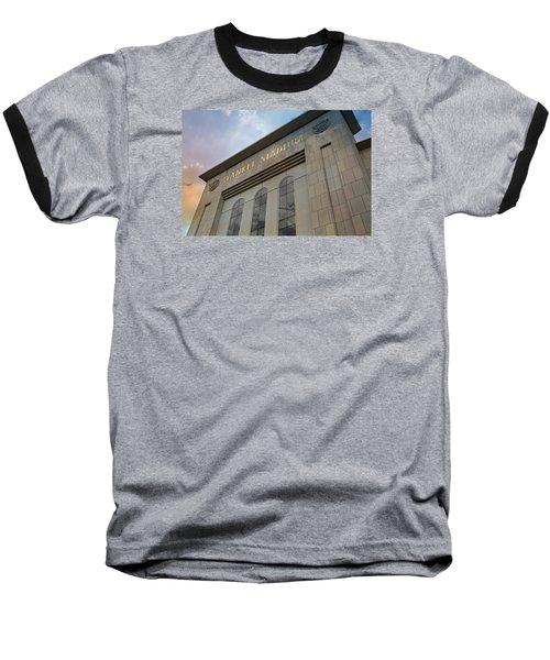 Yankee Stadium Baseball T-Shirt by Stephen Stookey