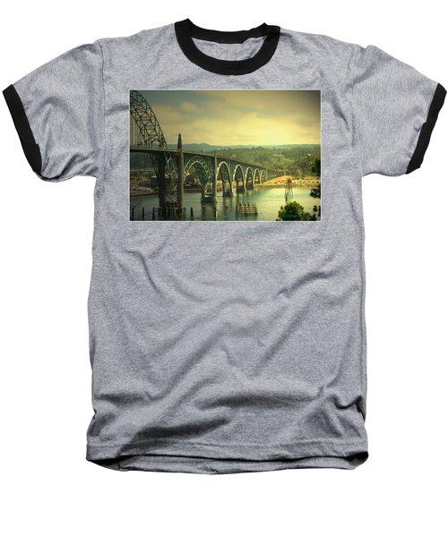 Yaquina Bay Bridge Or Baseball T-Shirt