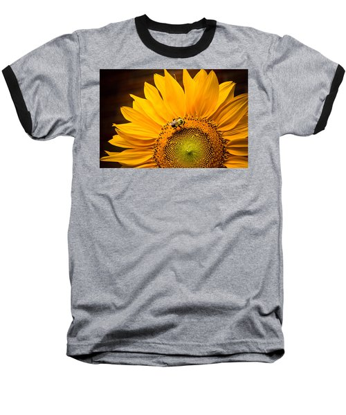Baseball T-Shirt featuring the photograph Yellow And Black by Sara Frank