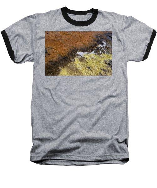 Yellow And Orange Converging Baseball T-Shirt