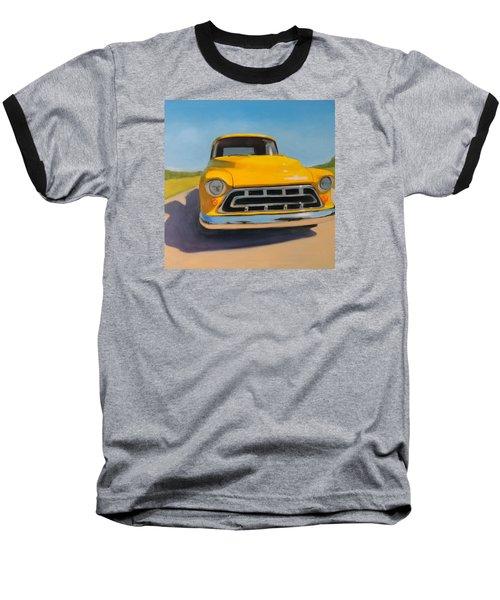 Yellow Chevy Baseball T-Shirt