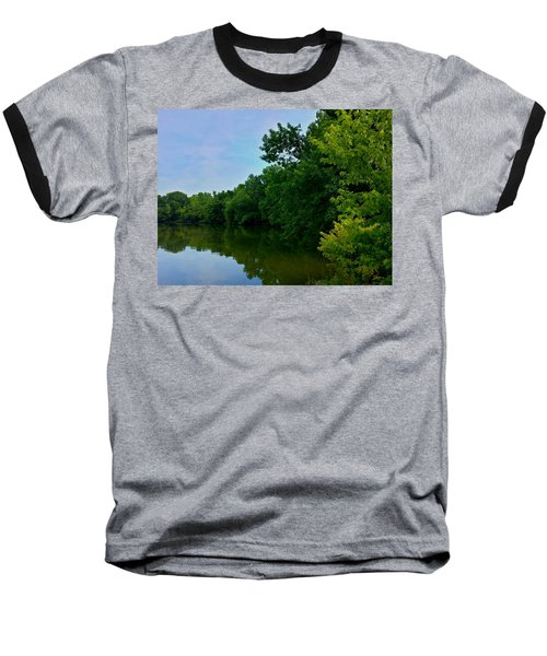Baseball T-Shirt featuring the photograph Yellow Creek by Chris Tarpening