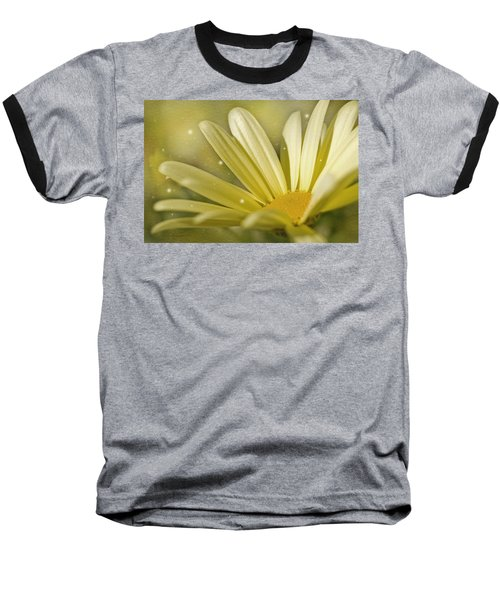 Baseball T-Shirt featuring the photograph Yellow Daisy by Ann Lauwers