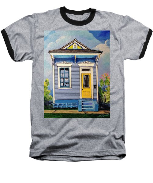 Yellow Door Shotgun  Baseball T-Shirt