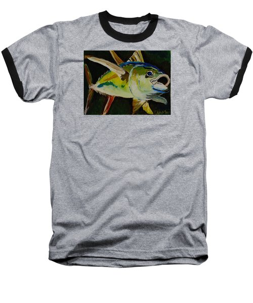 Yellow Fin Tuna Baseball T-Shirt