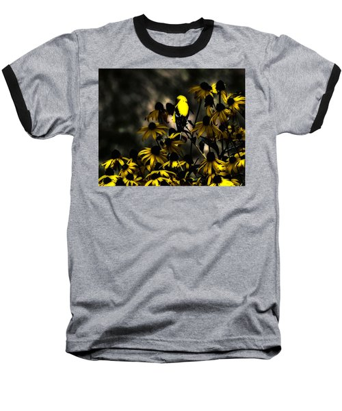 Yellow Finch Baseball T-Shirt