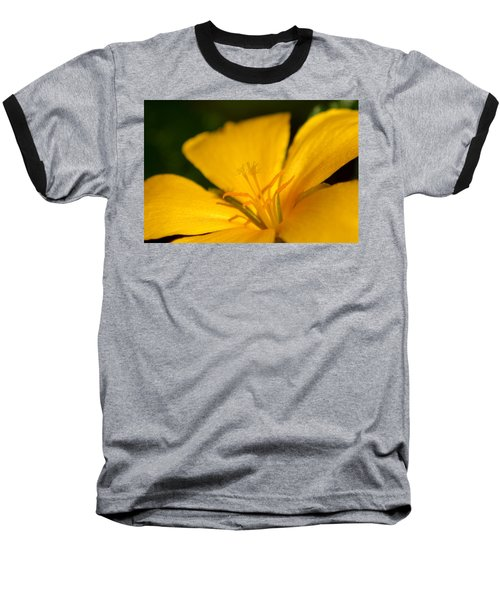 Baseball T-Shirt featuring the photograph Yellow by Greg Allore
