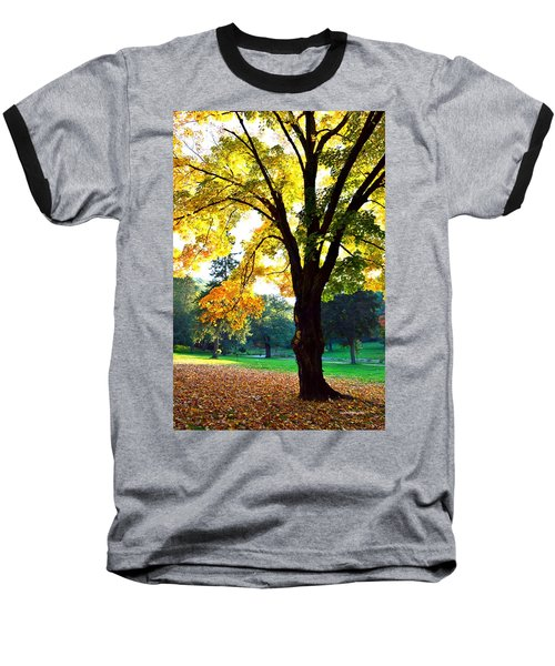Yellow Highlights Baseball T-Shirt