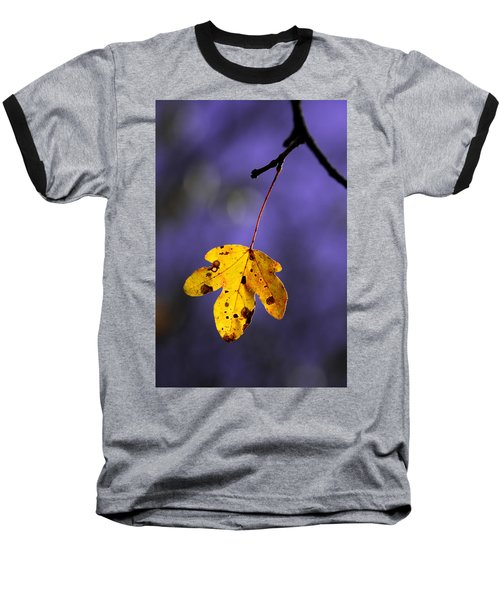 Yellow Leaf Baseball T-Shirt