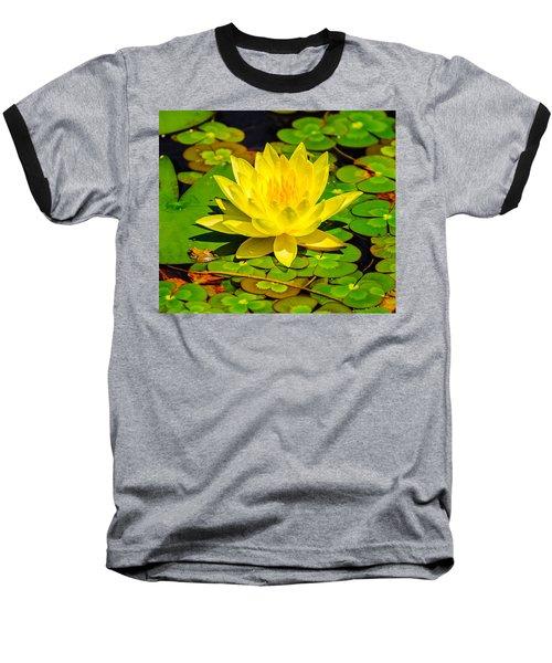 Yellow Lily Baseball T-Shirt