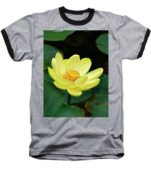 Yellow Lotus Baseball T-Shirt