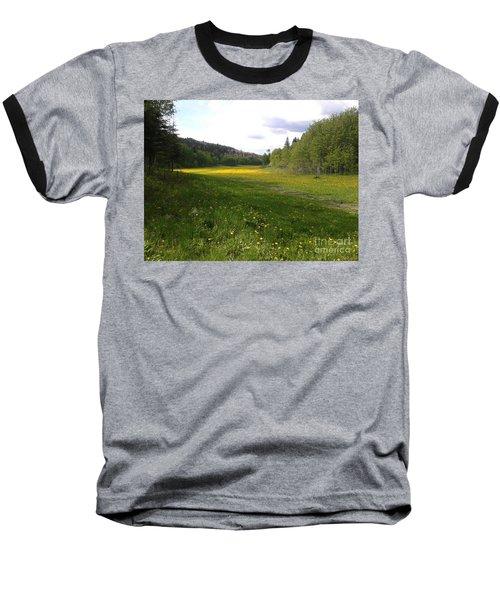 Yellow Meadow Baseball T-Shirt