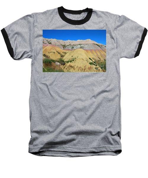 Yellow Mounds Badlands National Park Baseball T-Shirt