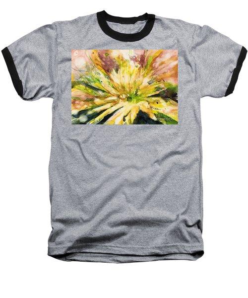 Yellow Mum Baseball T-Shirt