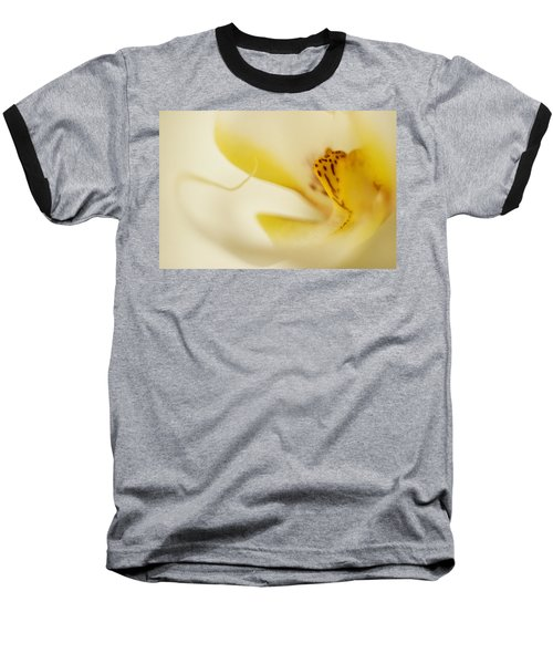 Baseball T-Shirt featuring the photograph Yellow Orchid by Bradley R Youngberg