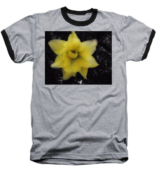 Yellow Parrot Tulip Baseball T-Shirt