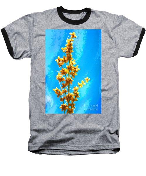 Yellow Plant Baseball T-Shirt