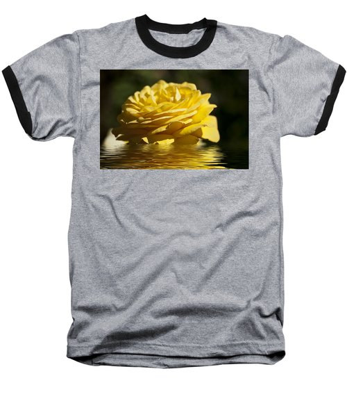 Yellow Rose Flood Baseball T-Shirt