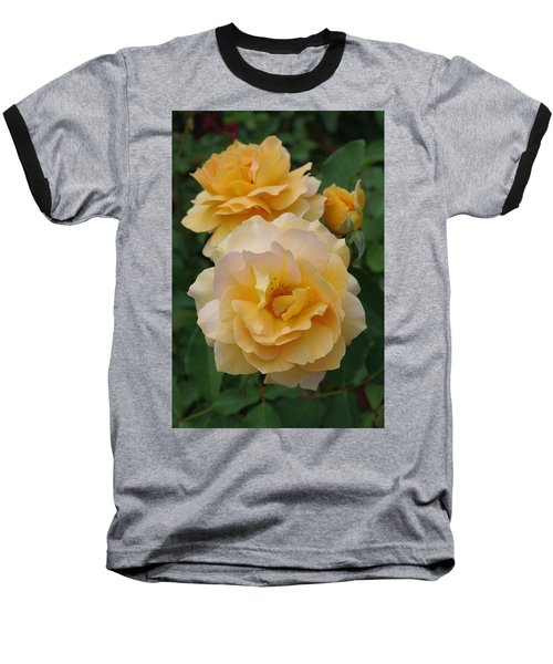 Baseball T-Shirt featuring the photograph Yellow Roses by Marilyn Wilson