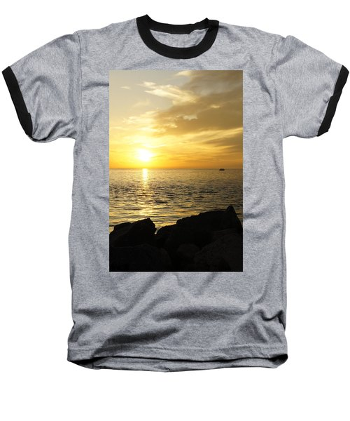 Yellow Sky Baseball T-Shirt
