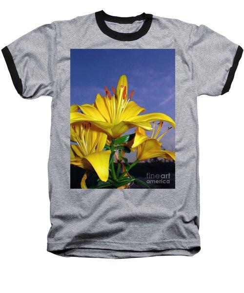 Yellow Spring  Baseball T-Shirt