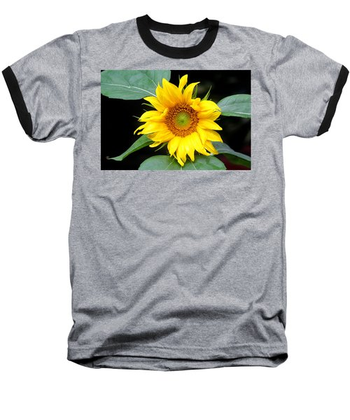 Yellow Sunflower Baseball T-Shirt