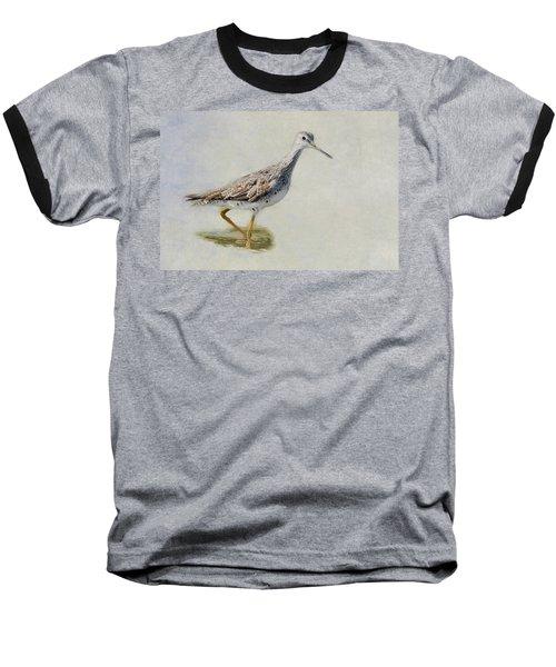 Yellowlegs Baseball T-Shirt by Bill Wakeley