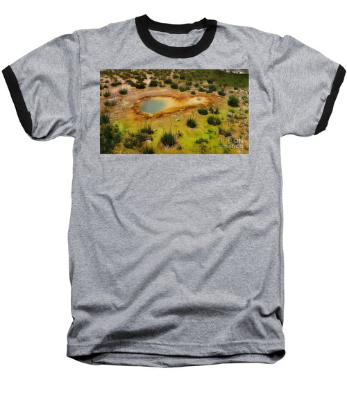Yellowstone Hot Pool Baseball T-Shirt