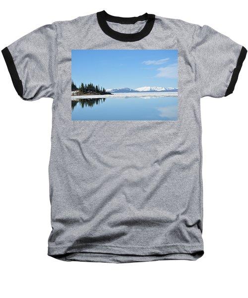 Yellowstone Lake In The Spring Baseball T-Shirt