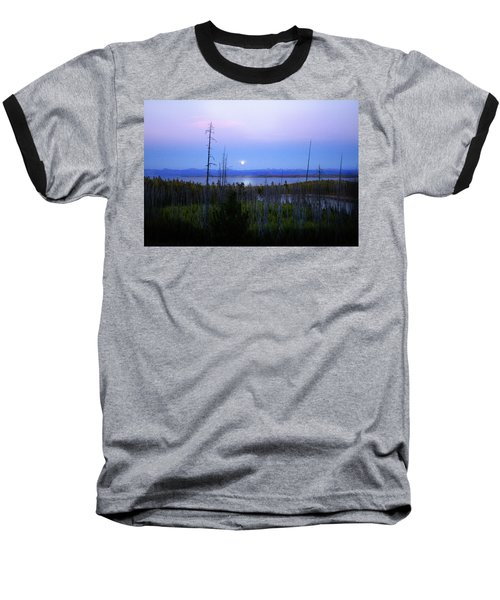 Yellowstone Moon Baseball T-Shirt