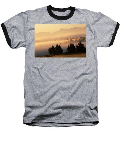 Yellowstone Sunrise Baseball T-Shirt