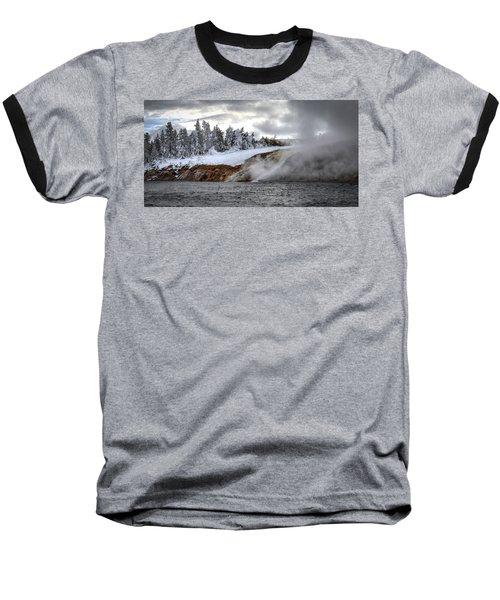 Yellowstone's Fire And Ice Baseball T-Shirt