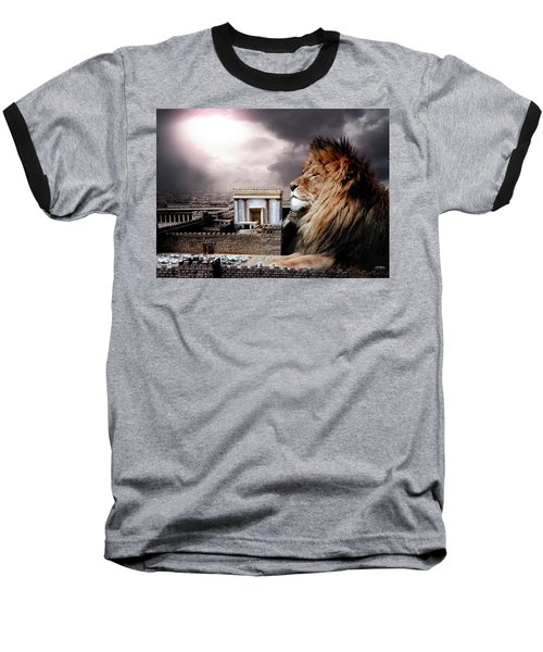 Yeshua In The Outer Court Baseball T-Shirt