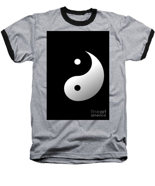 Yin And Yang Baseball T-Shirt