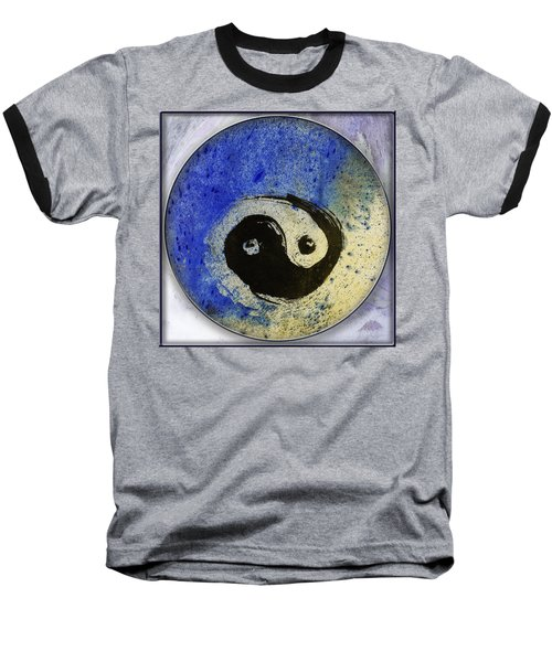 Yin Yang Painting Baseball T-Shirt