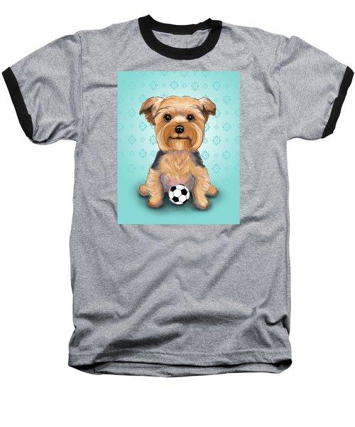 Yorkie  Baxter Hemenway Baseball T-Shirt