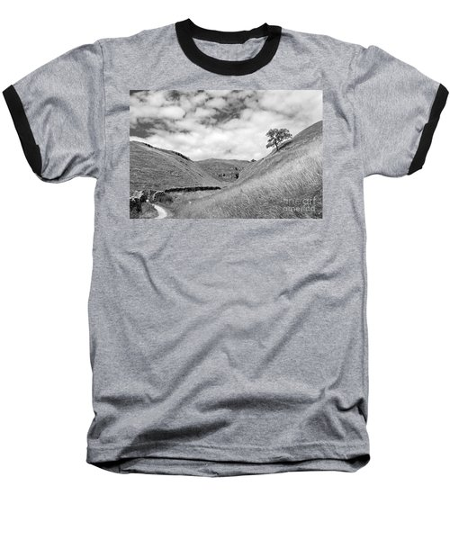 Lone Tree In The Yorkshire Dales Baseball T-Shirt