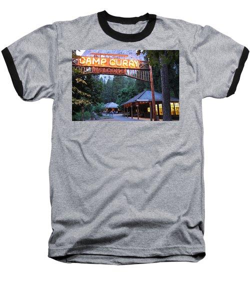 Yosemite Curry Village Baseball T-Shirt