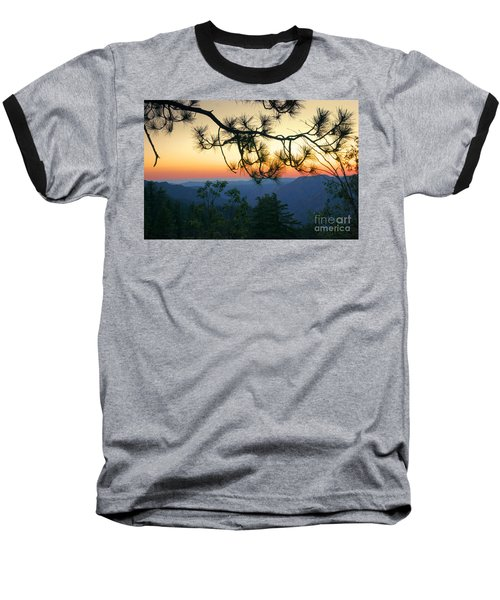 Yosemite Dusk Baseball T-Shirt