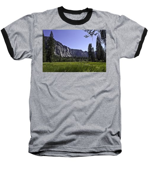 Yosemite Meadow Baseball T-Shirt