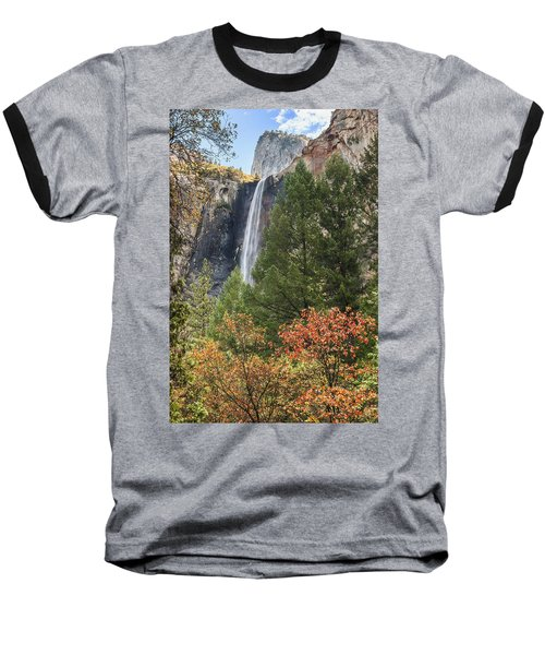 Yosemite Baseball T-Shirt by Muhie Kanawati